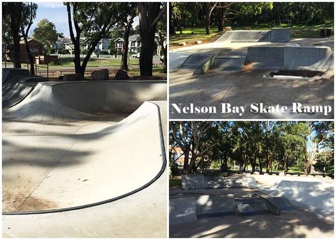 nelson bay skate ramp, nelson bay, port stephens, NSW, shoal bay, neil carroll park, markets, skate boards, scooters, ramps, NSW,