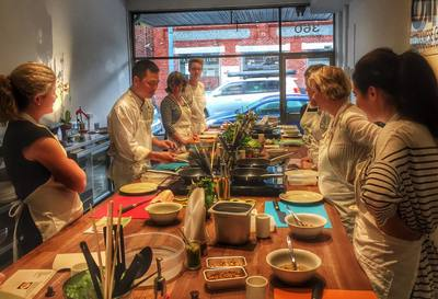 otao kitchen, cooking, classes, vietnamese, ha nguyen, foodi