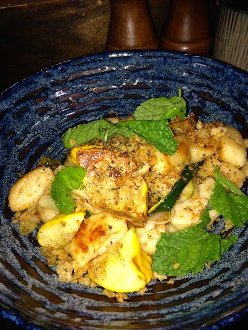 Pan Fried Ricotta Gnocchi with Courgettes, Summer Squash, Chilli ...