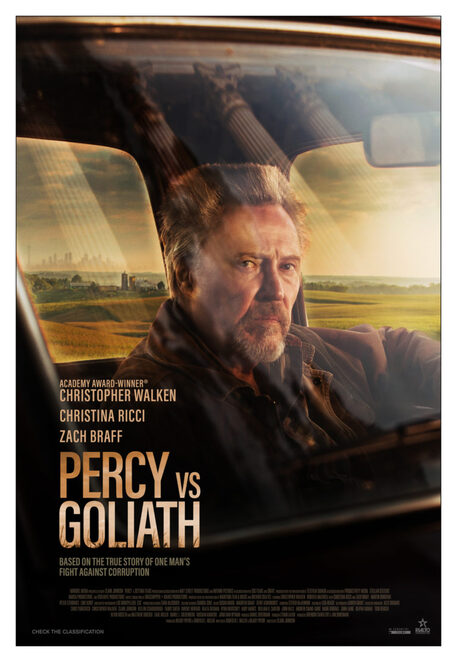 percy vs goliath film review, community event, cinema, fun things to do, entertainment, night life, date night, movie buff, performing arts, christopher walken, zach braff, christina ricci, biography, actors