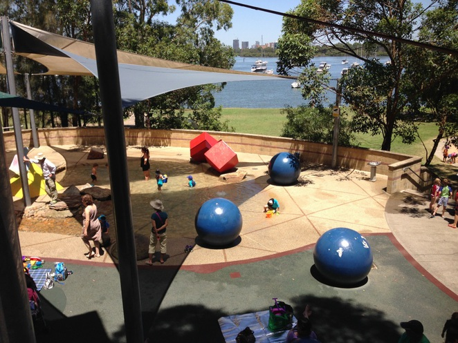 Putney Park, Sydney Water Parks, Water Play