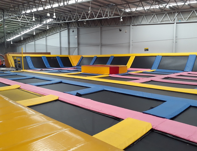 revolution sports park, newcastle, maryville, NSW, trampoline centres, inflatables, childrens birthday parties, kids, school holidays, children, family,