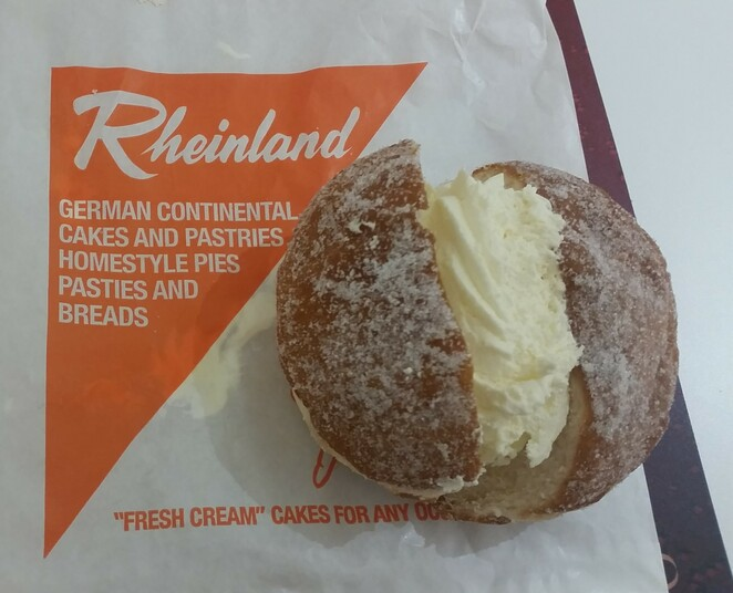Rheiland Bakery, Rundle Place, Rundle Mall, Adelaide, Bakery