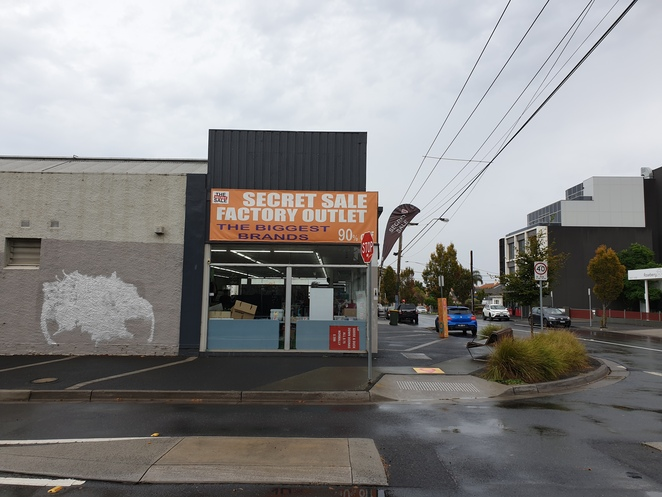 Secret sale warehouse store bentleigh