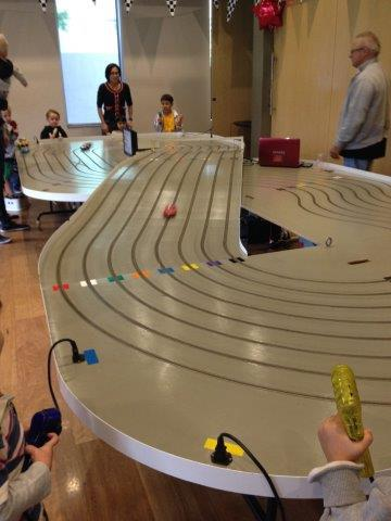slot car, racing, boys, parties, fun, corporate, birthday