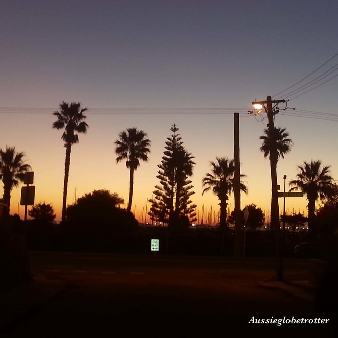 South Beach B&B, Fremantle, Perth, B&B, South Beach, accommodation, bed and breakfast, sunset
