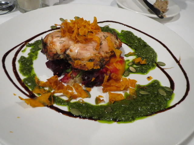 Strathmore Hotel, Cafe 129, Dill & Lemon Marinated Chicken Breast, Adelaide