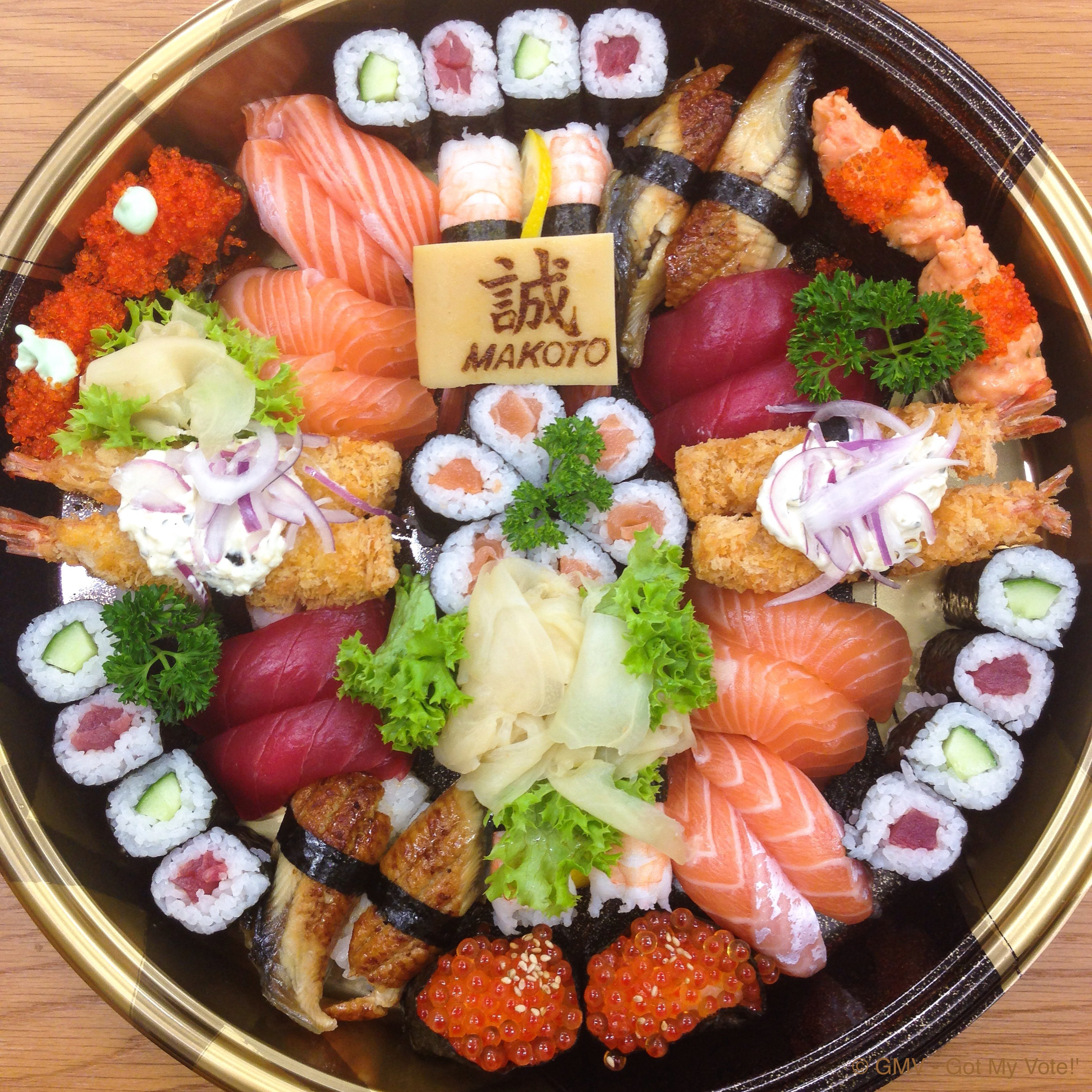 Sushi Dinner Party Ideas Part - 41: Sushi, Platter
