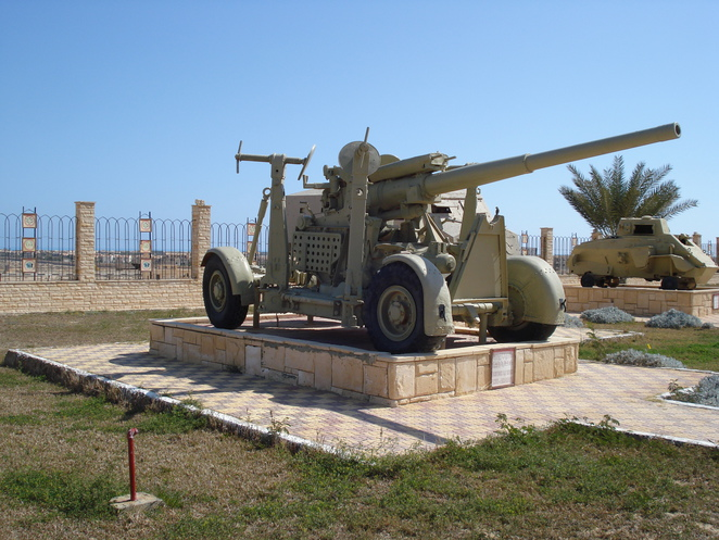 WW2 Tank on display at El Alamein