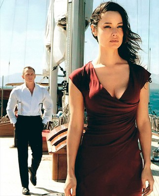 James Bond with the stunning Severine