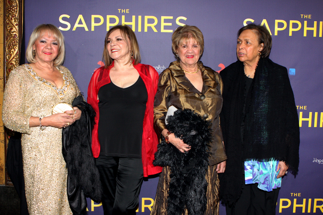 The Sapphires, Laurel Robinson, Beverly Briggs, Naomi Mayers, Lois Peeler,