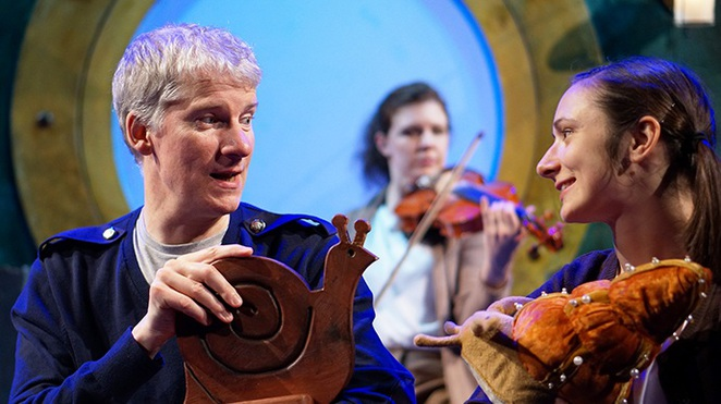 The Snail & The Whale, children's theatre, kids, Opera House, children's play