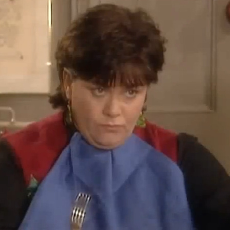 the vicar of dibley, the christmas lunch incident, geraldine granger