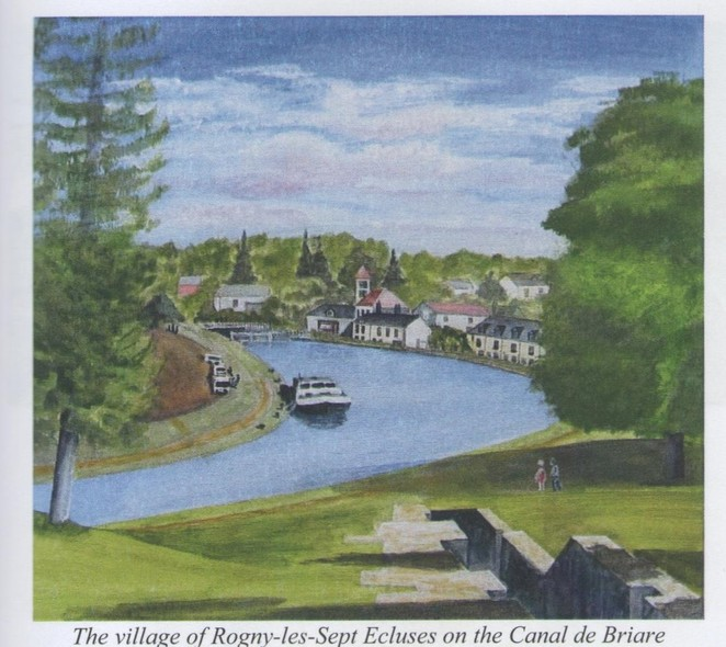 The Voyages of De Villehardouin, Cruising French Waterways, Canal Boat Travel, France, Art Calendars