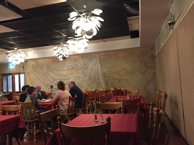 the,dining,room,at,Cracovia,Club