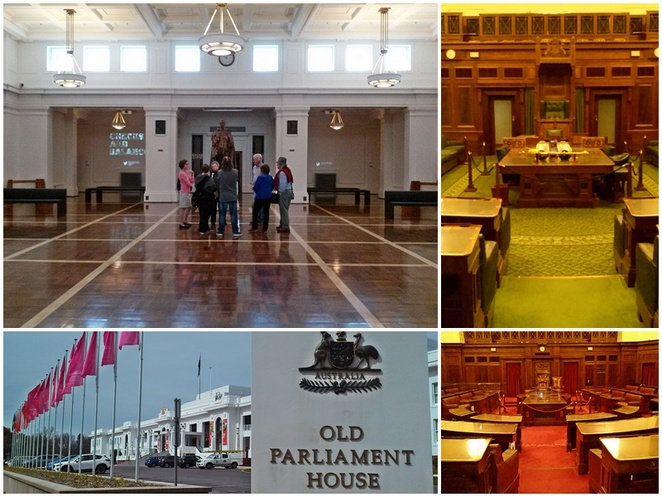 tours, old parliament house, canberra, tourist attractions, things to do, places to visit, public tours, ACT, parliament,