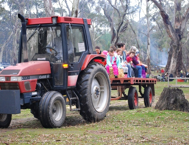 Tractor,rides