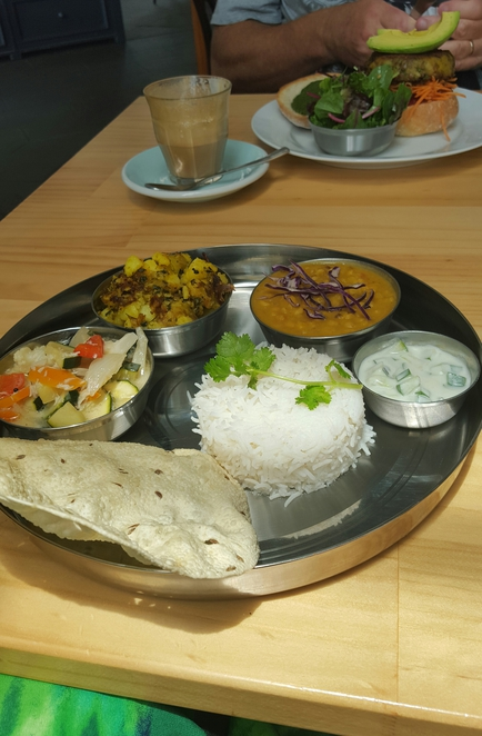 Vegetarian, food, thali