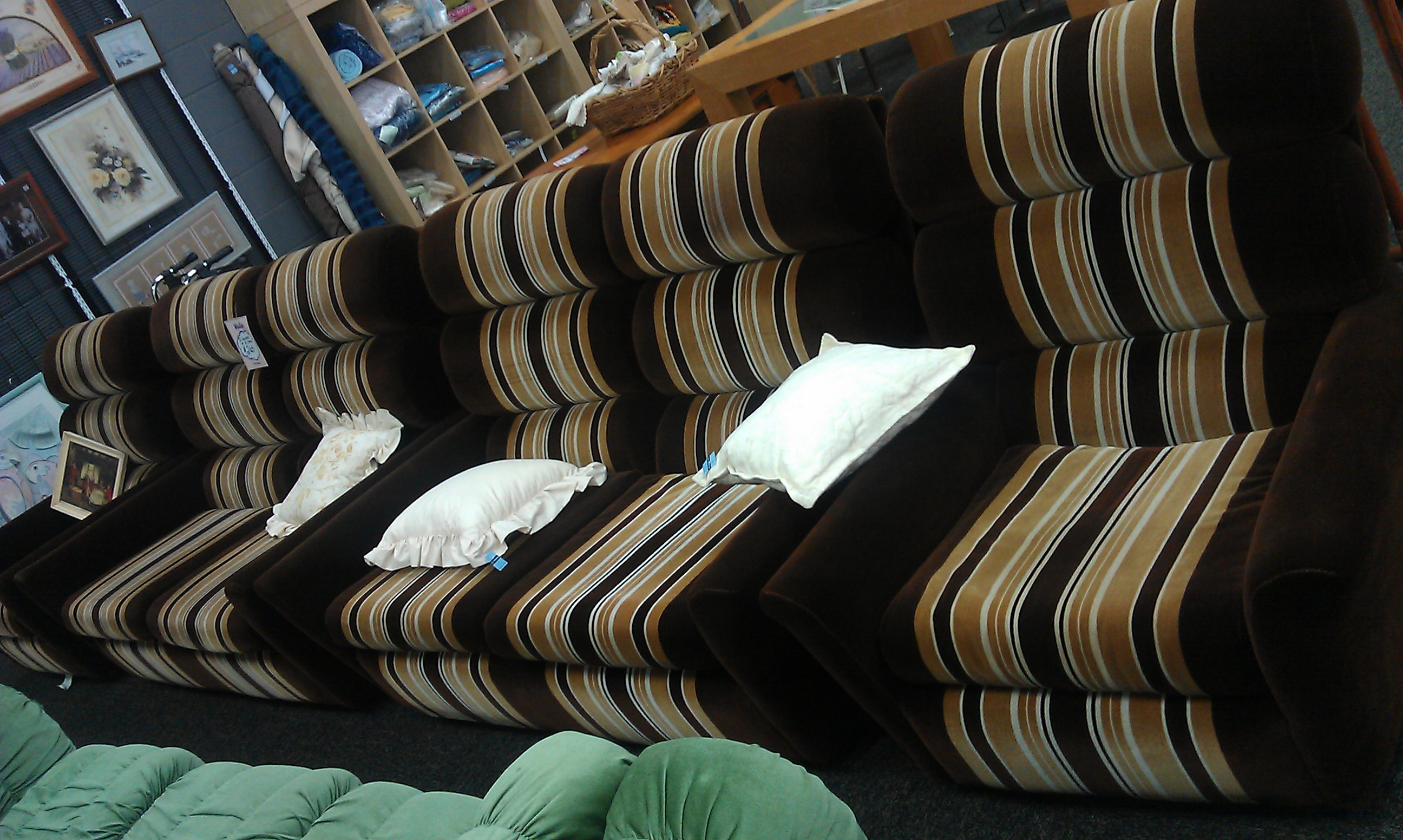 Vinnies Shops provide furniture, clothing and household goods to families and people who are in