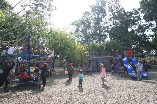 western springs, auckland, playground