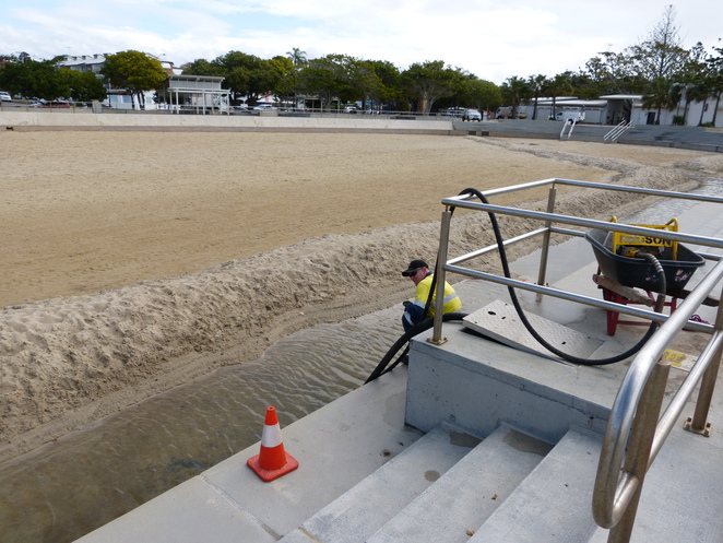 Wynnum wading pool refurbishment