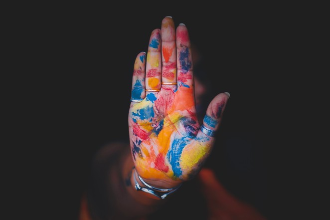 zest infusion, art therapy, birkdale, mindfulness, workshop, course