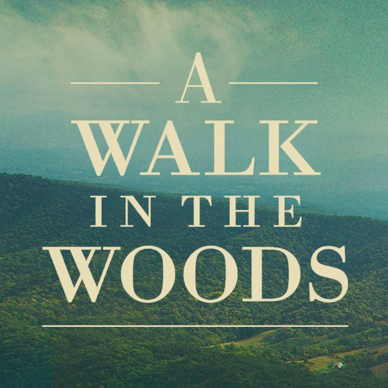 A walk in the woods essay