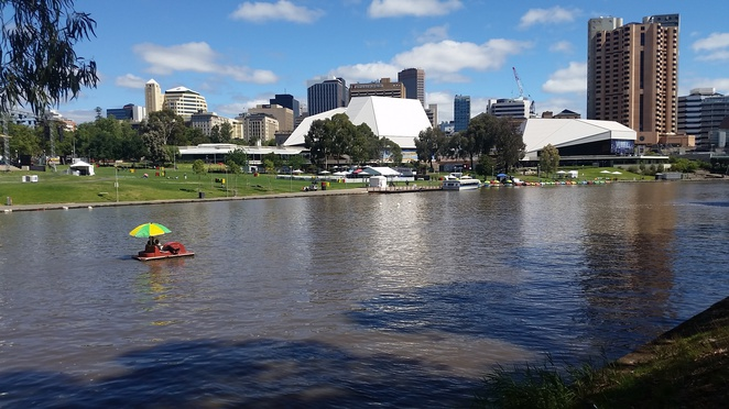 View over Torrens River