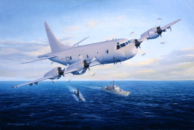 Barry Spicer, Military Artist & SA Aviation Museum
