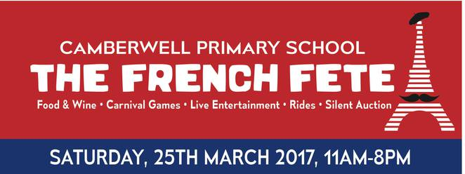 Camberwell Primary School French Fete