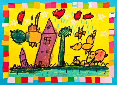 child,drawing,colourful