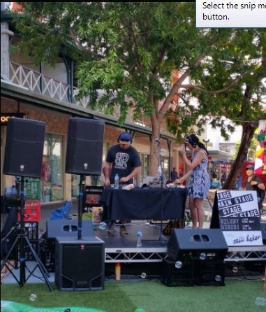 City Mall, Smith Street Mall Darwin, Darwin, free family activities, free, Laneway Series, Laneway Series No.2, Valentine, music