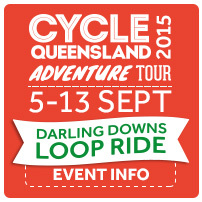 cycle queensland, bicycle, darling downs, loop, adventure tour, cycling, organised tour, luxury camping, glamping