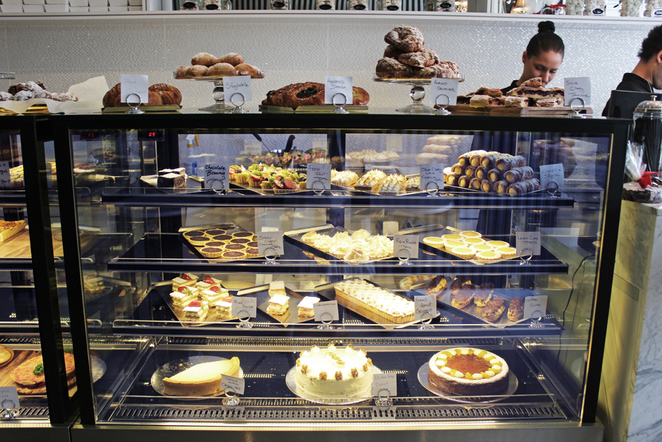 desserts, pastries, patisserie, dolce classico, walkerville, pastry cabinet