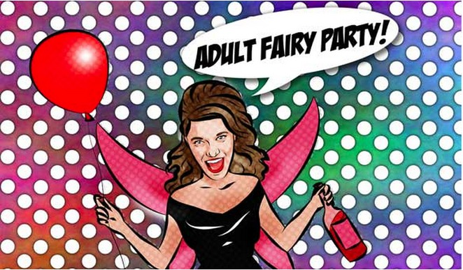 fairy party, adult fairy party, butterfly club,