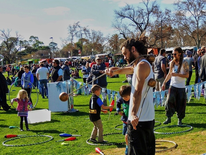 fork on the road, food trucks, activities for kids, riverbank precinct, cargo food van, buffalo wings, elder park, adelaide oval, chicken and waffles, family entertainment
