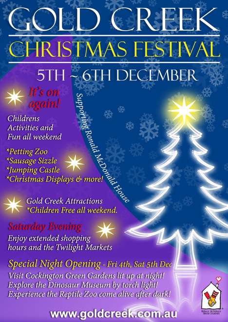gold creek christmas festival 2015, canberra, cockington green, dinosaur museum, canberra reptile park, markets in canberra, december events 2015 canberra,