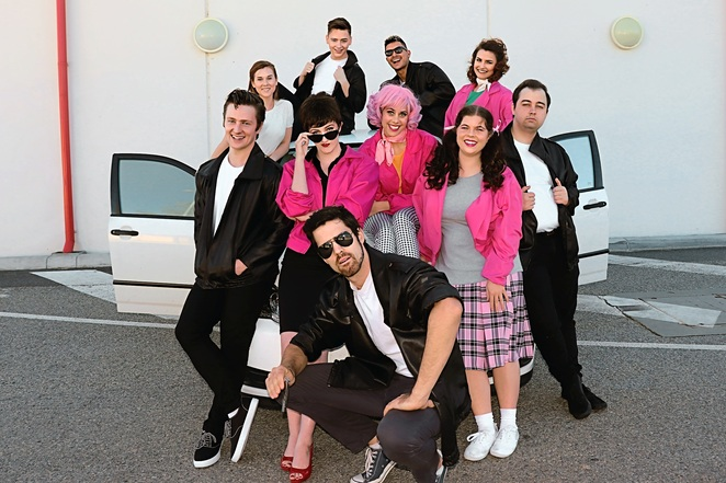 Grease, musical, performing arts, Summer Nights, Greased Lightnin', You're The One That I Want, Art in Motion Theatre Company, Don Russell Performing Arts Centre, T-Birds, Pink Ladies