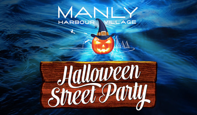 Halloween in Manly Harbour
