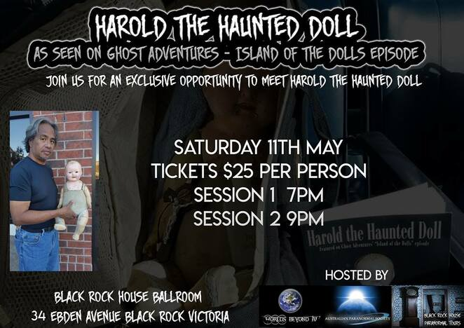 Harold the Haunted Doll Facebook