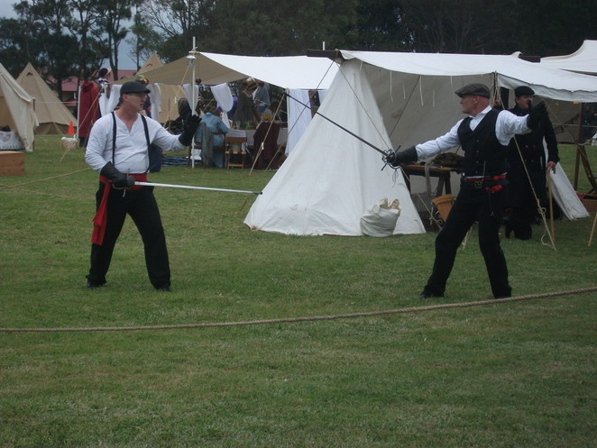 history alive, reenactment, wars, fencing, dance, food, fort lytton, day out,