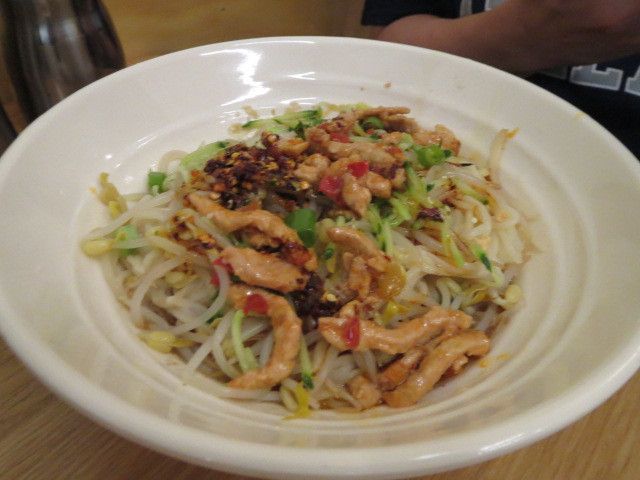 Holy Noodle Bar, Special Cold Dry Noodles with Shredded Pork and Pickled Peppers, Adelaide