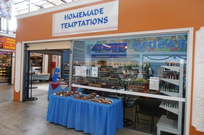 Homemade Temptations is located at Shop 176 at Morley's Coventry Makets.