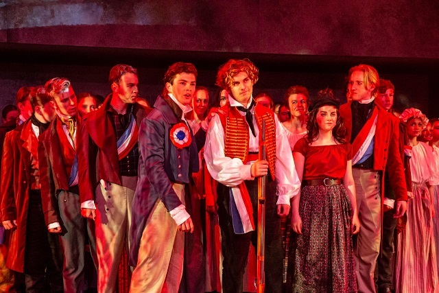 Les Miserables ensemble