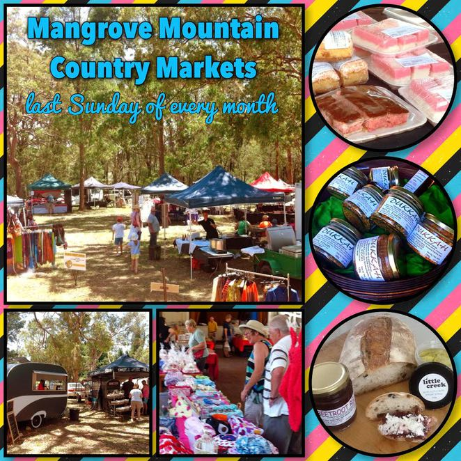 Mangrove Mountain Markets - that last Sunday of every single month