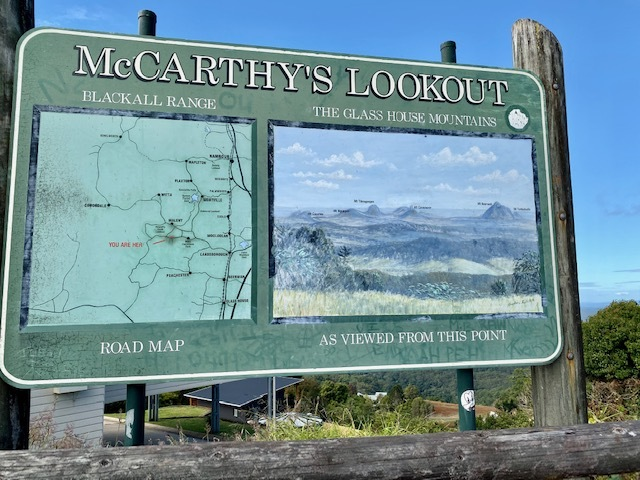McCarthy's Lookout at Maleny