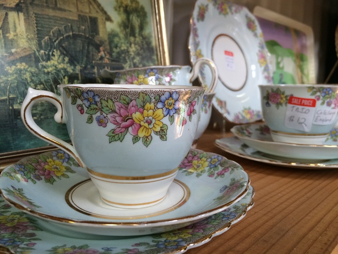 My new teacup and saucer