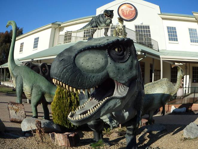 national dinosaur museum, canberra, gold creek village, kids, families, what to do, ACT,