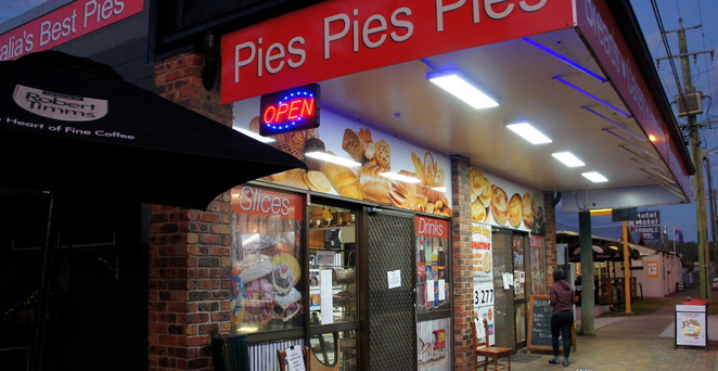 Old Fernvale Bakery & Cafe is famous for their pies