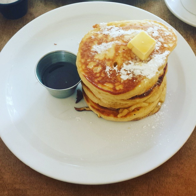 Pancakes Brunch Hash E8 East London